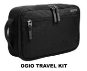 OGIO BLACK TRAVEL KIT BAGS