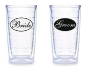 Tervis Tumbler Bride and Groom 16 oz. Tumblers