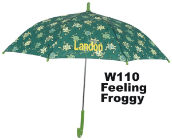 Personalized Feeling Froggy Umbrellas for Children