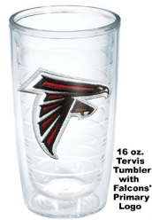 NFL Atlanta Falcons Tervis Tumblers and Mugs and Wrap Tumblers and Water Bottles