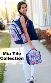 Personalized Mia Tile Backpacks