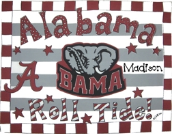 University of Alabama Toddler Pillow and Pillowcase
