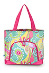 "Monogrammed ""Hippie Chic"" Large Athletic Tote Bag from Room It Up"