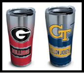 STAINLESS 20 OZ. AND 30 OZ. TERVIS TUMBLERS