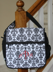 "Monogrammed ""Paris"" Black & White Lap Top Cases from Room It Up"