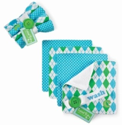 Single Initial Wash Cloth Sets by Mud Pie