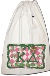 GREEK Kappa Delta Sorority Laundry Bag