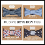 Mud Pie Bow Ties for Boys
