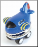 Oh Boy Airplane Little Flyer Tooth Box from Mud Pie