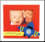 Oh Boy Airplane Little Flyer Wood Picture Frame from Mud Pie