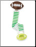 Mud Pie Baby Football Paci Clips