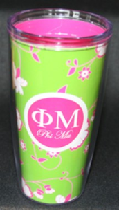 Phi Mu, Delta Delta Delta, and Chi Omega Sorority Tumblers and Mugs by Signature Tumblers