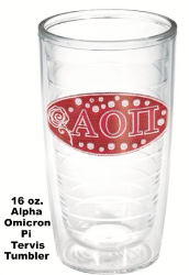 Alpha Omicron Pi Sorority Tervis Tumblers and Mugs and Water Bottles