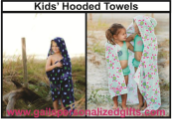 Personalized Kids' Hooded Towels-Gettin' Crabby