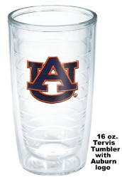 Auburn University Tervis Tumblers and Mugs and Water Bottles and Wrap Tumblers