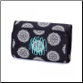 Black and White Maddie Hanging Cosmetic Bags