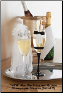 Mud Pie Bride and Groom Champagne Glasses-Set of 2