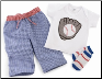 3-Piece Baby Baseball Set by Mud Pie