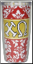 Chi Omega Sorority Cottie Cups