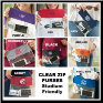 Personalized Stadium & Concert Friendly Clear Zip Purses