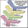 Buckhead Betties Chesapeake Striped Lounge Chair Covers