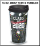 Class of 2020 Tervis 16 oz. Wrap Tumblers