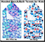 Personalized Kids' Hooded Beach and Bath Towels