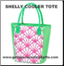 Personalized Shelly Insulated Cooler Totes