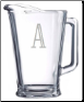 Personalized 60 oz. Glass Pitchers