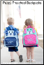 Personalized Puppy Preschool Backpacks and Lunch Boxes