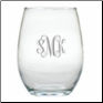 Personalized Unbreakable Stemless 15 oz. Wine Glasses-Set of 4