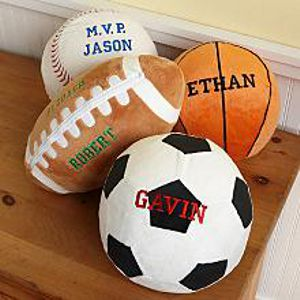 Personalized Sports Pillows